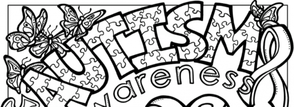 Renert students win the top 2 spots from among 6,000+ entries in the Autism Awareness coloring contest